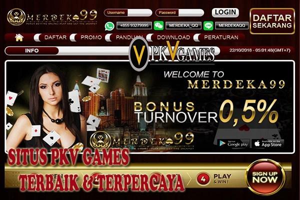 Merdeka99 Situs PKV Games Terbaik Indonesia