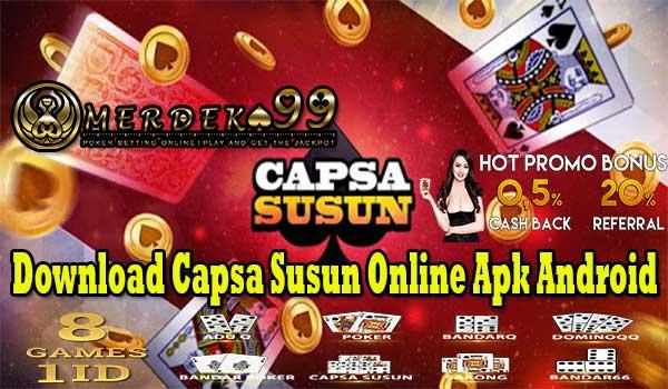 Download Capsa Susun Online Apk Android